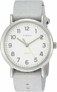 Timex Weekender 38mm Metallic Fabric Watch TW2R92500