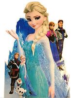 Frozen Wall Art Sticker Disney Princess Elsa Anna Olaf Extra Large Kids Room
