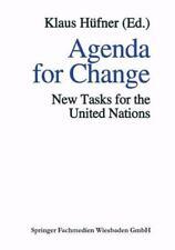 Agenda for Change : New Tasks for the United Nations (2013, Paperback)