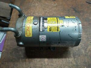 Gast 0522-V321-G408D Oil-Less Vacuum Pump w/GE Motor 1/4HP 220/380VAC 3-Phase