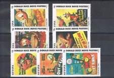 Serie Disney postfris MNH Guyana: Donald Movie Posters (dis080)