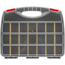 Set of 2 Organizer Craft Box Beads Jewelry Storage Case 12.5 x 10 x 2.25 Inches