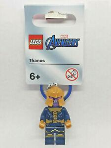 Brand New Lego - Thanos Keyring (2021) - Avengers Marvel - 854078