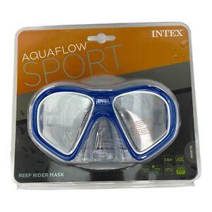 Aquaflow Sport Diving Reef Rider Swim Mask Latex Free For Pool Or Beach Age 14+