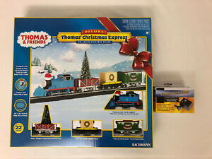 Thomas & Friends Deluxe Christmas Express Electric Train Set - Bachmann HO Scale