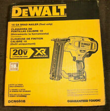 (BRAND NEW) DEWALT DCN680B 18 Gauge Brad Nailer, Tool Only