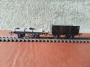 Graham Farish OO/HO/N Gauge rolling stock x 2 - Die-cast