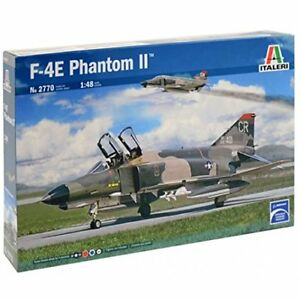 F-4E Phantom II Fighter Plastique Kit 1:48 Model Italeri