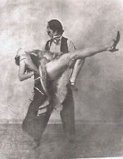 "Hendrickson Original Photo Sepia MALE DANCER DIPS HIS PARTNER 11x14"""