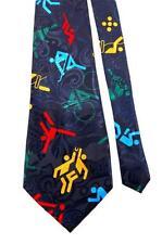 FLORENCE ACTIVITY FIGURES Games Sports NAVY MEN  Tie Necktie Z2-5