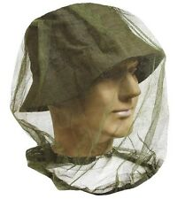 MOSQUITO NATO HEAD NET insect midge cover hat camping fishing plus stuff sack