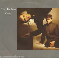 "TEARS FOR FEARS - Change (UK 2 Track 1982 7"" Single PS)"