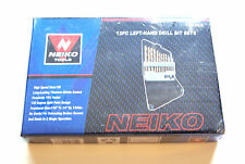 13pc LEFT HAND TITANIUM HSS M2 DRILL BIT SET NEIKO USA
