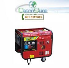 Generatore di corrente diesel 4200W - 220/380V avviamento elettrico