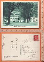 Borgone (TO) Municipio e Piazza Roma - Animata - Viaggiata 1940 - 20030