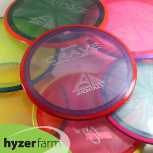 Axiom PROTON CRAVE  *pick your weight and color* Hyzer Farm disc golf driver