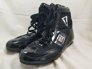 Title Boxing Shoes size 8.5 Black