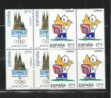 ESPAÑA. Año: 1992. Tema: OLIMPIADAS DE BARCELONA-1992.