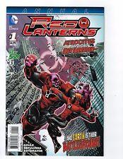 Red Lanterns Annual # 1 NM DC 1st Print Regular Cover New 52 N52
