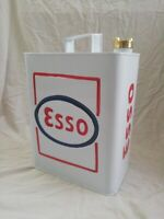ESSO. Petrol can with brass cap. Modern reproduction.