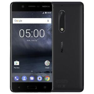Brand new Nokia 5 SIM Free Unlocked 16GB  Dual Sim Android Smartphone Black UK