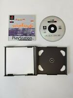 Wipeout PS1 Playstation 1 One Sony Computer Game Boxed Complete Black Label