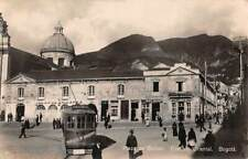BOGOTA, COLOMBIA, PLAZA BOLIVAR, TROLLEY, CATHEDRAL REAL PHOTO PC used 1932