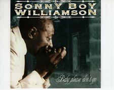 CD SONNY BOY WILLIAMSbaby please don't goEX (A4012)