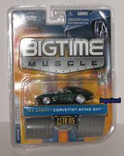 Jada Bigtime  Muscle 1963 Chevrolet Corvette Stingray 63 Vette #CLTR 115 1:64 S