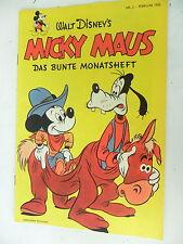 1x Comic - Walt Disney - Micky Maus - Monatsheft  Nr.2 -1952 - Nachdruck -Z.1/1-