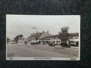 Station Road - Crossgates - Leeds - Sepia RP - Used Locally 1953