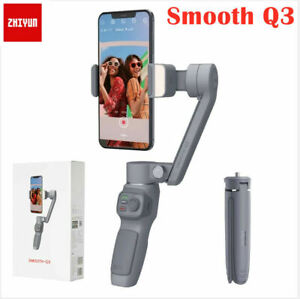 Zhiyun Smooth Q3 3-Axis gimbal Stabilizer+Fill Light For iphone xiaomi Samsung