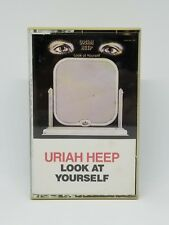 Uriah Heep Look at Yourself EX Cassette Polygram 1971 USA 814 180-4