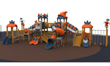 60x30x30 Commercial Playground Equipment Interactive 100% Financing Available