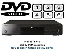 Pioneer BDP-LX55 3D DixX SACD Multi Region Free (DVD 1-8) Blu-Ray Player
