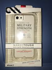Authentic Case Mate Naked Tough Clear Case Cover for Apple iPhone 7 4.7 inch
