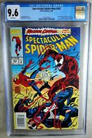 Spectacular Spider-Man #202 NEWSSTAND Marvel 1993 CGC 9.6 NM+ WP Comic M0111