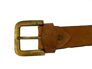 Diesel Matured 20 Century Tan Leather Belt Size 100