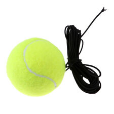 Rubber Tennis Training Ball With String For Single Tennis Practice Exercise