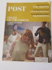 Saturday Evening Post - Drugs on the Campus - May 21, 1966 239th Year, No.11