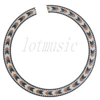 New Soundhole Rosette Inlay Acoustic Guitar Rosette Wood Parts