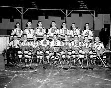 Boston Bruins 1941-42 NHL Season 8x10 Photo