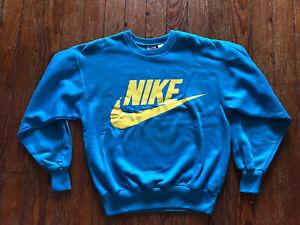 VTG NWOT 80s Nike Gray Tag Sweatshirt Center Swoosh Travis Scott Sweater Spell