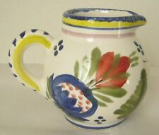 HB Quimper France Faience Pottery Small Creamer Pitcher Breton Woman
