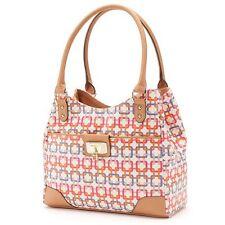 Brand New Rosetti Logo Multicolor Geometric Shopper Satchel + Free Shipping
