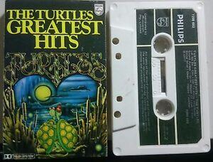 The Turtles `Greatest Hits`Cassette 1977 Philips 7299-682 Pop Folk Rock Aust`