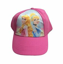 Official Disney Princess Kids Baseball Cap - Pretty in Pink Colour - NEW!