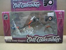NHL OCC Chopper, Die Cast Motorcycle, Philadelphia Flyers, MIB, New, 1:18