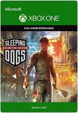 Sleeping Dogs Edición Definitiva región juego clave (Xbox One)