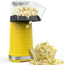 Hot Air Popper Popcorn Maker with Removable Lid, No Oil Needed, Great for Kids